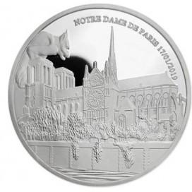 Médaille Argent Belle Epreuve Notre Dame de Paris