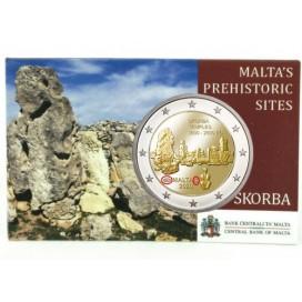 Coincard 2 Euro Malte 2020 - Temple de Skorba