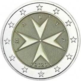 2 euro Malte 2020 - Croix de Malte