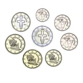Serie 1 cent à 2 euros Chypre 2020