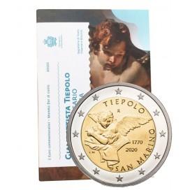 2 Euro Saint Marin 2020 -250 ans de la mort de Jean-Baptiste Tiepolo