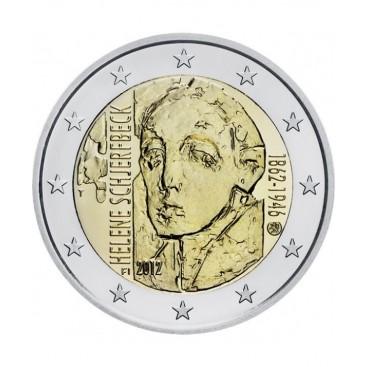 2 Euro Finlande 2012 Helene Schjerfbeck