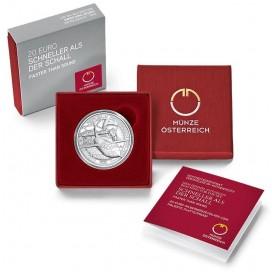20 Euro Autriche 2020 - Plus rapide que le son