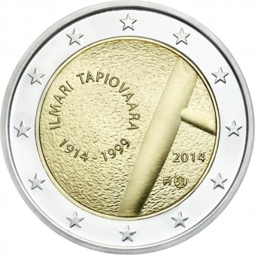 2 Euro Commémorative Finlande 2014 n°2