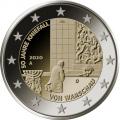 2 euro Allemagne 2020 - 50 ans de la Génuflexion de Willy Brandt