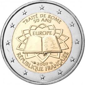 2 Euro France 2007 Traité de Rome