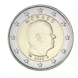 2 Euro Monaco Albert 2020