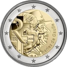 2 Euro France 2020 - Charles de Gaulles