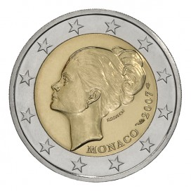 2 Euro Monaco Grace kelly 2007