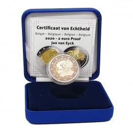 2 Euro Belgique 2020 BE - Jan van Eyck