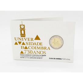 2 Euro Belle Epreuve Portugal 2020 - 730 ans de l'université de Coimbra