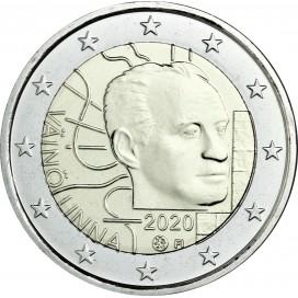 2 Euro Finlande 2020 - 100 ans de la naissance de Väinö Linna