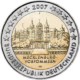 2 Euro Allemagne 2007 - Mecklenbourg