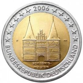 2 Euro Allemagne 2006 - Schleswig-Holstein.