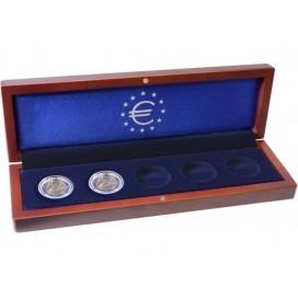 Ecrin numismatique VOLTERRA 5x 2 euros Allemagne 2020 Varsovie