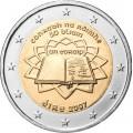 2 Euro Irlande 2007 Traité de Rome