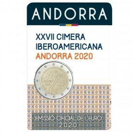 2 Euro Andorre 2020 - 50 ans de suffrage universel pour les femmes