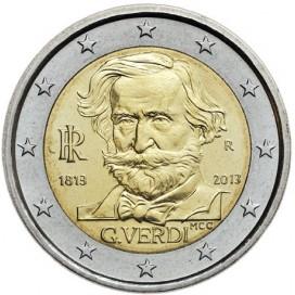 2 Euro Italie 2013 Giuseppe Verdi
