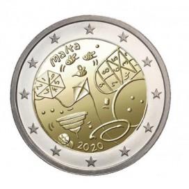 2 Euro Malte 2020 - Jeux d'enfants