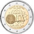 2 Euro Luxembourg 2007 Traité de Rome