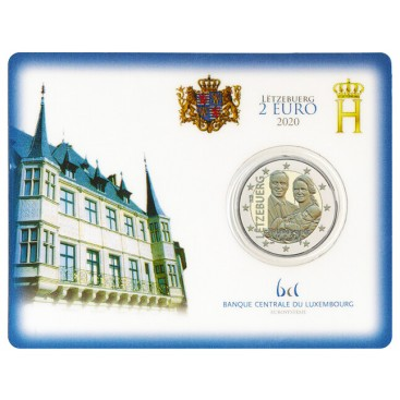 Coincard 2 Euro Luxembourg 2020 Naissance du prince Charles