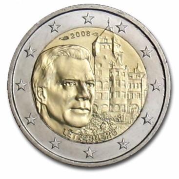 2 Euro Luxembourg 2008 Château de Berg