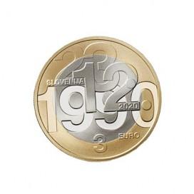 3 euro Slovénie 2020