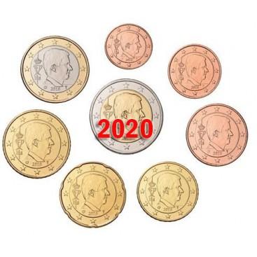 Serie Euro BELGIQUE 2020