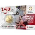 2euro commémorative BELGIQUE coincard 2014