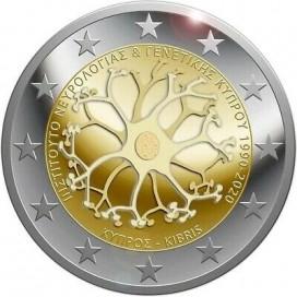 2 Euro Chypre 2020 30 ans de l'Institut chypriote de neurologie