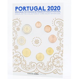 Coffret FDC Portugal 2020