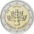 2 Euro BU Lettonie 2020 - Céramique de Latgale