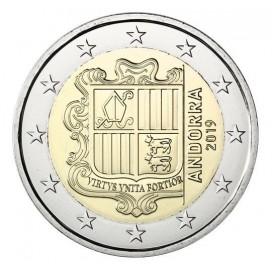 2 Euros Andorre courante 2019