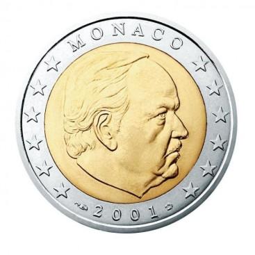 2 Euro MONACO 2001 Reinier