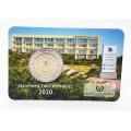 2 Euro BU Chypre 2020 30 ans de l'Institut chypriote de neurologie