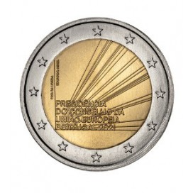 2 Euro Portugal 2021 - Présidence du Conseil de l'Europe