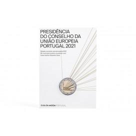 2 Euro BU Portugal 2021 - Présidence du Conseil de l'Europe