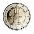 2 Euro Italie 2021 - 150 ans de la proclamation de Rome comme capitale italienne