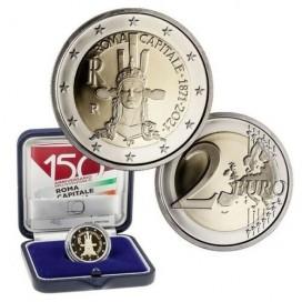 2 Euro BE Italie 2021-150 ans de la proclamation de Rome comme capitale italienne