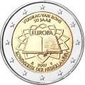 2 Euro Pays bas 2007 Traité de Rome