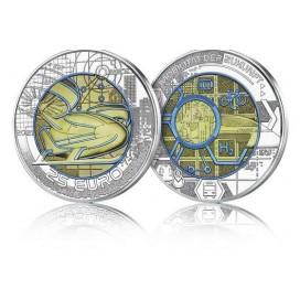 25 Euro Autriche Nobium 2021