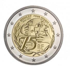 2 Euro France 2021 - Unicef