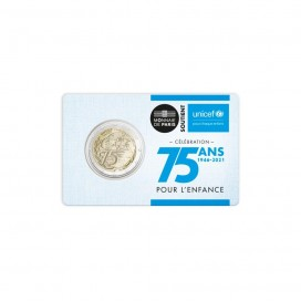 Coincard 2 Euro France 2021 - Unicef
