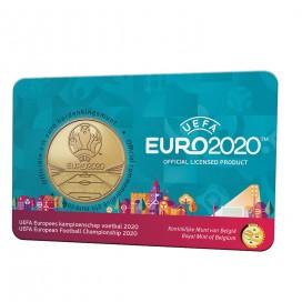 Coincard Flamande 2,50 Euro Belgique 2021 - UEFA EURO 2020
