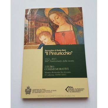 2 Euro SAINT MARIN 2013 Pinturicchio