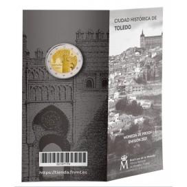 2 Euro BE Espagne 2021 - Ville de Tolède
