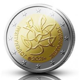 2 Euro Finlande 2020 - Journalisme