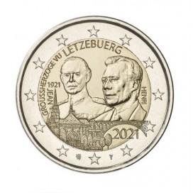 2 Euro Luxembourg 2021- Le 100e anniversaire du Grand-Duc Jean