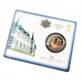 Coincard 2 Euro Luxembourg 2021- Le 100e anniversaire du Grand-Duc Jean