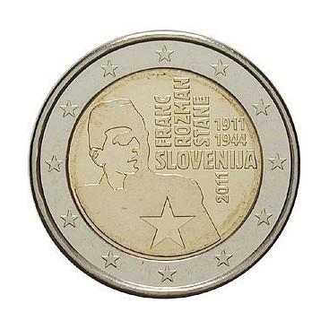 2 Euro Slovénie 2011 Franz-Rozman